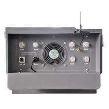Prisons Jammers 6 Bands 600W with Wireless Control System Jail Jammer RC Software Jamming up to 500m