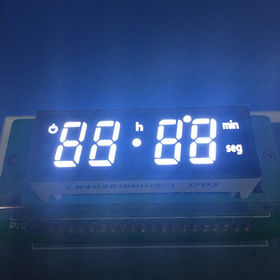 Ultra-white Customized Design 4-digit 0.38-inch Digital Oven Timer LED Display