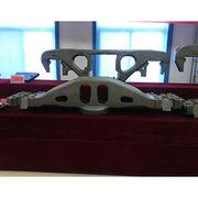 Steel casting for railway bolster side frame