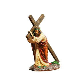 Jesus Carrying His Cross Religion Statue