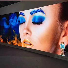 China HD video LED TV panel RGB SMD3528
