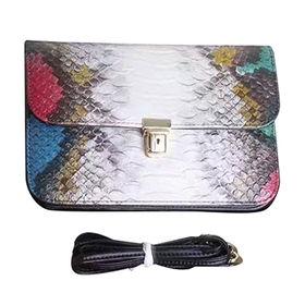 China Real leather messenger bag