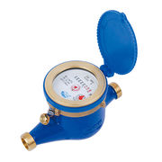 Rotary Vane Wheel Industrial Water Meters, Dry Dial Remote Reading from Shanxi Solid Industrial Co.,Ltd.