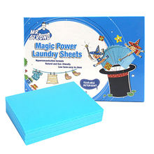 Laundry sheets for home cleaning, 16 sheets/box