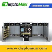 Exhibition Stand Modular : Aluminum modular exhibition booth portable display stand show