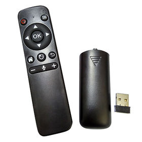 China Voice Input 2.4G RF Air Mouse Universal Remote Control