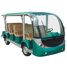 China Electric shuttle bus electric sightseeing car