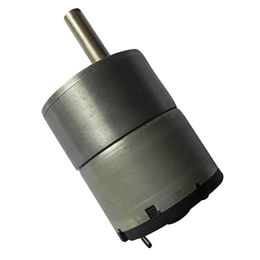 China manufacturer supplier micro DC gear motor, 37mm 50rpm high torque