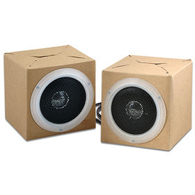 Promotional Foldable Speaker Cardboard from Wealthland (Audio) Limited