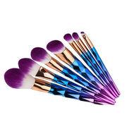 Electroplating makeup brush from Shenzhen Yuanxin Technology Co. Ltd