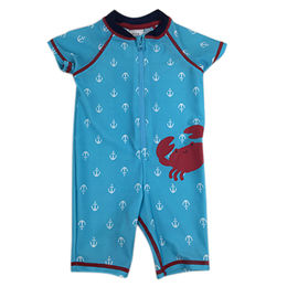 Kid's Boy's Wetsuit with Zipper UV Protection, Fabric of 82% Nylon and 18% Spandex Materials