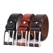 Fashion men's leather belt buckles