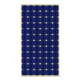 China PV Mono 200W solar panel for off grid solar system