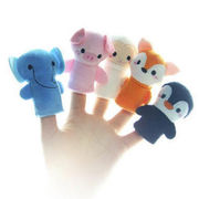 China Plush finger puppets