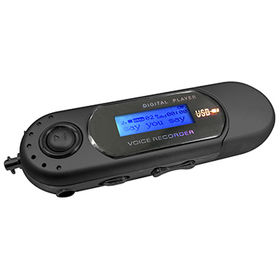 China MP3 Player with AAA Battery