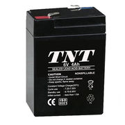China 6V/4Ah Rechargeable Valve Lead-acid Battery