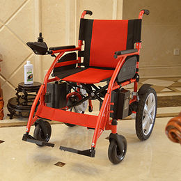 China Steel electric power wheelchair