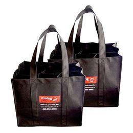 China Promotion non-woven wine packing bags