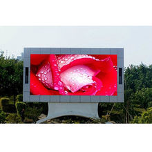 Flexible LED digital advertising board outdoor P5 RGB SMD2727 LED windproof screen panel
