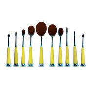 China New makeup brush, electroplating makeup brush, cleansing brush