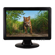 China 12-inch wide screen security CCTV lcd monitor disp