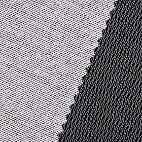 Weft-insert interlining for garment