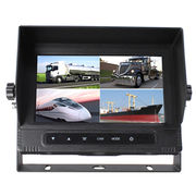 7 Inches Digital IP67 LCD Wide Scrren Quad Function Car Waterproof Monitor for Trailers from Shenzhen Luview Co. Ltd