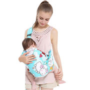 China Hot wholesale various color cotton baby wrap carrier