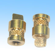 Machined Parts, Made of Brass 360, Finish By Cleaning the Oil and Polishing with RoHS Marks from HLC Metal Parts Ltd