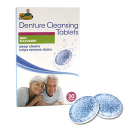 Anti-bacterial denture cleaning tablet from China (mainland)