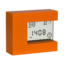 LCD multiple functions digital alarm clock with unique design