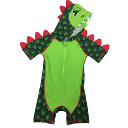 Boy Kid's Wetsuit with Zipper UV Protection, Fabric of 82% Nylon and 18% Spandex Materials