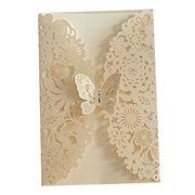 Wedding Invitation Card/Birthday or Party Invitation card, from Invitation Card Manufacturer