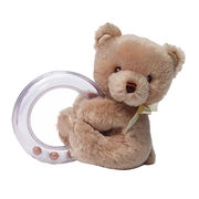 High quality custom baby rattle plush rattle for baby stuffed animal baby rattle from Dongguan Yi Kang Plush Toys Co., Ltd