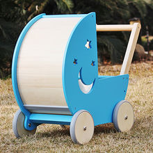 China 2017 new design safety outdoor toddlers wooden push walker, W16E074