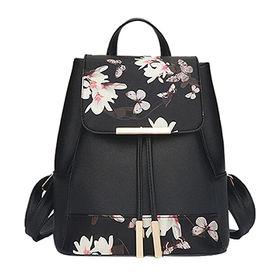 China Digital printing flowers backpack