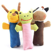 China 20cm plush toy for pet with squeaker inside, pet bed, dog bed, cat bed