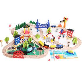 China Wooden Train Tracks Toys