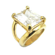 China Casting Ring with Zircon