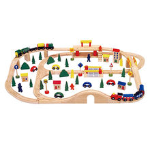 2017 Funny Activity Toys/Kid's Wooden Toy Train Sets, W04C068