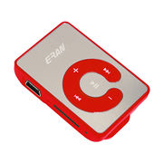 MP3 Player, Supports TF Card 1-16GB Mini Clip MP3 Player
