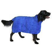 Easy Wear Microfiber Dog Towel,Prevents Rapid Cooling,Keeps Furniture & Car Interior Dry
