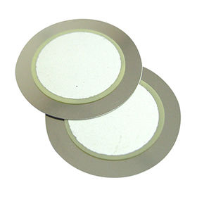 20mm Piezo Ceramic Buzzer with 5.5 kHz resonant frequency from Wealthland (Audio) Limited