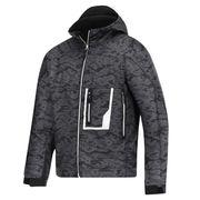 China Military hooded men's softshell jacket