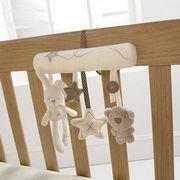 Custom soft infant plush toy, safe stuffed baby stroller doll toys from Dongguan Yi Kang Plush Toys Co., Ltd