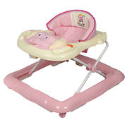 China Baby Walker, Appearance of Cartoon Design, Lovely Color Collocation