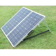 China High-efficiency mono solar panel module, 36 cells 100W