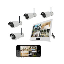 China HD 720P Out-door Security camera CCTV kits DVR/NVR with 10' touch Screen Wifi Camera Wireless Camera