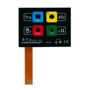 China Concave buttons membrane switches