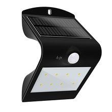 China LED solar sensor wall light